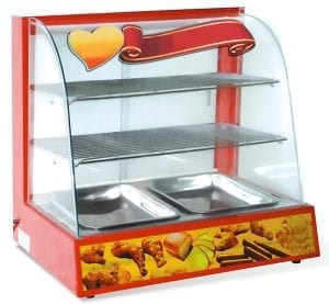 HEATED DISPLAY CASE HURAKAN HKN-WD2